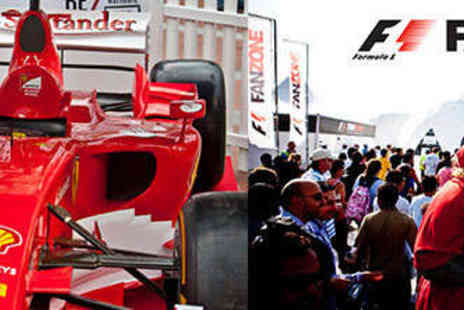 F1 FanZone - Entry to F1 FanZone in London  - Save 29%
