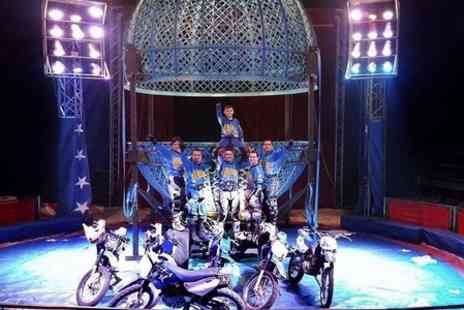 Planet Circus - Ticket to Planet Circus For Adult  - Save 65%