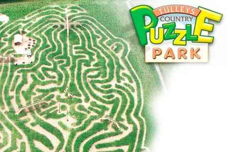 Tulleys Farm -  Entry to Tulleys Puzzle Park for Up to Five - Save 47%