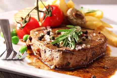 The Crown - Steak Meal With a Game of Pool For Two - Save 44%