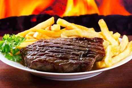 Robin Hood Inn - Two Course Steak Meal With Coffee For Two - Save 54%