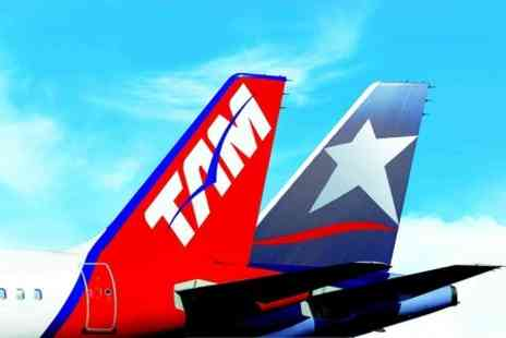 TAM Airlines - £10 for £100 Towards Brazil or Argentina Return Flights from London  - Save 50%