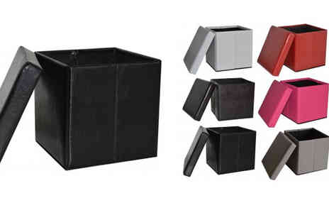 D furniture store - Ottoman Storage Cube or Bench - Save 72%