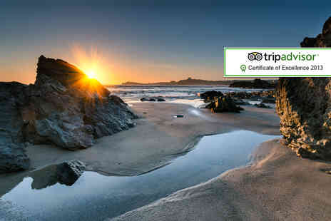 Sandy Lodge Hotel - Overnight Newquay break for 2 including breakfast  - Save 29%