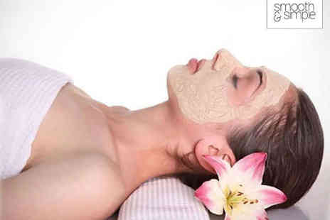 Smooth and Simple - One Diamond Peel Microdermabrasion Facial Treatments - Save 64%