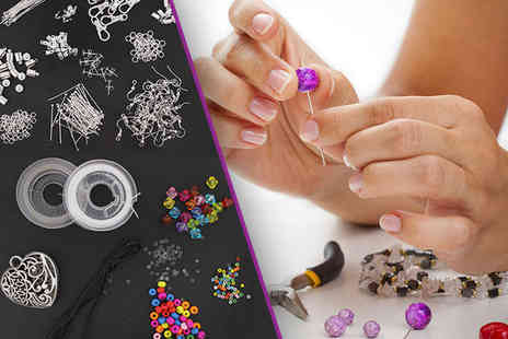 Brendee - 1000 Plus Piece Jewellery Making Kit - Save 70%