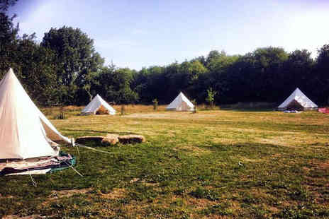 British Bells - Two nights stay  luxury glamping near Colchester for 2 - Save 42%