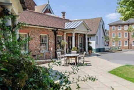 Classic British Hotels - Overnight Rural Woburn Retreat with AA Rosette Dining for Two - Save 36%