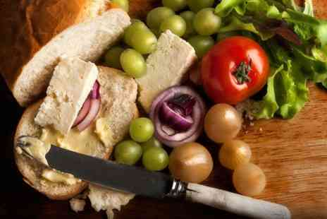 Tancred Farm Shop - Ploughmans Cake Tea and Wine For Two - Save 55%