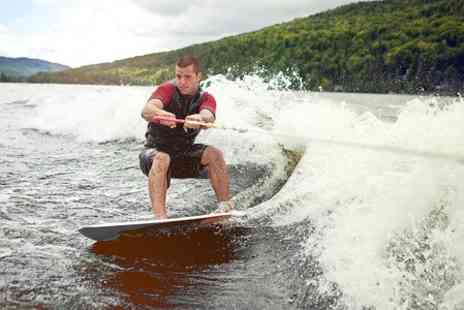 Cliff Lake - Wakeboarding Lesson For One  - Save 50%