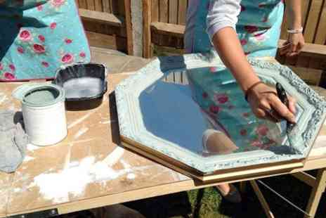Love House - Outdoor Furniture and Accessories Painting Workshop With Cream Tea  - Save 61%