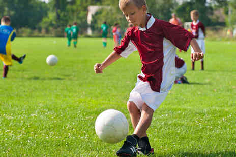 Active Soccer - Active Football Birthday Party for 5  - Save 50%