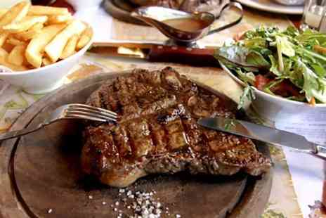 Kings Arms - Rib Eye Steak for two  - Save 56%