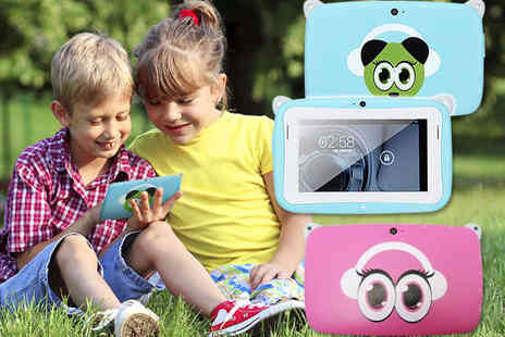 love bebe shop - Childrens Panda Android Tablet in Blue or Pink - Save 71%