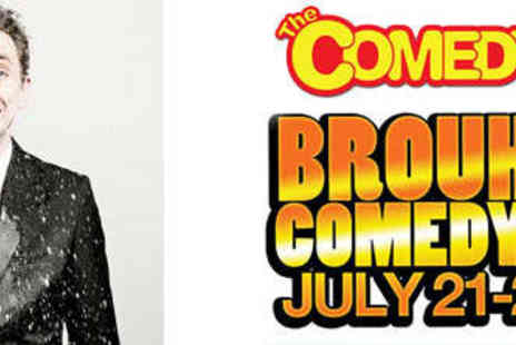 The Comedy Box - Two Tickets to BrouHaHa Comedy Week  - Save 52%