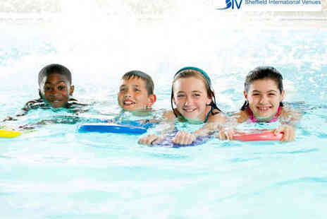 Sheffield International Venues - Ten Swimming Lessons for One  - Save 57%
