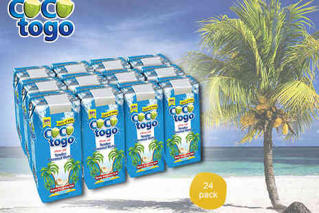 Quench Your Thirst - Case of Coco Togo Coconut Water containing 24 330ml Cartons - Save 50%