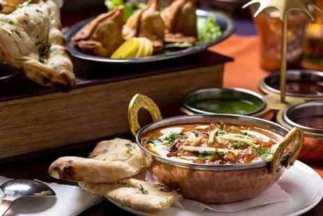 Pavilion Rochdale - Two Course Indian Meal With Sides  - Save 50%