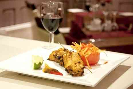 Safa Fine Indian Cuisine - Indian Meal With Wine For Two - Save 50%