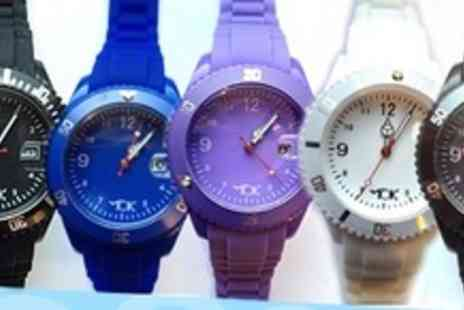 Tick Tok - Two Fashion Sport Watches in Choice of Colours - Save 68%