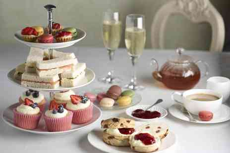 Knightsbridge Green Hotel - Afternoon tea for 2 including a glass of Prosecco - Save 63%