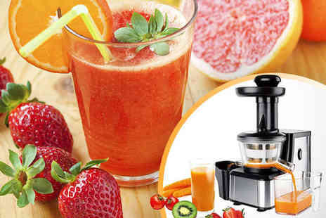 living and beyond - M Line Enrico Slow Juicer with Delivery Included - Save 51%