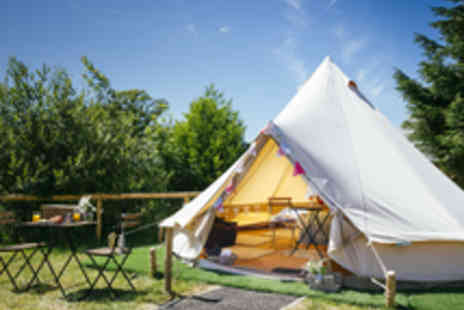 Oldwalls Gower - Glamping Stay in Gower Peninsula with Breakfast Hamper - Save 41%