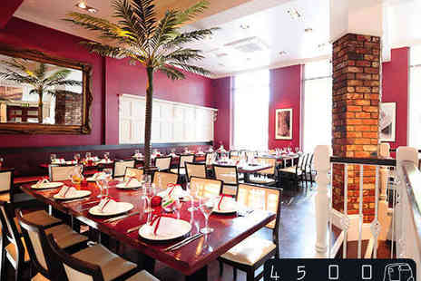4500 Miles From Dehli - All You Can Eat Lunch Buffet for Two - Save 54%