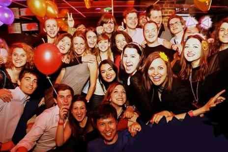 London Gone Wild - Bar Crawl in Two London Locations For up to Six People - Save 42%