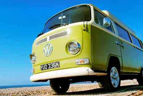 Gertie's Adventures - One night  Stay For Up to Four With Camper Van Hire  - Save 46%
