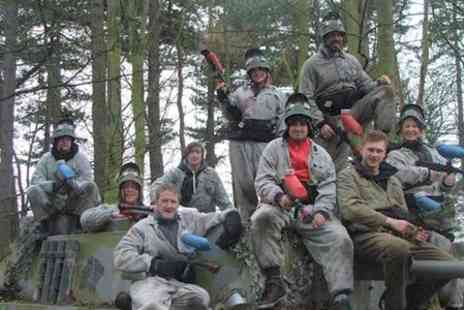 Elsham Activity Centre - Paintballing For Five - Save 91%