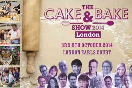 The Cake And Bake Show - Tickets to The Cake and Bake Show 2014 - Save 34%