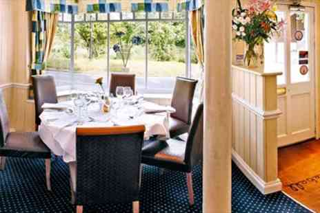 The Bluebell Restaurant - Five Course Tasting Dinner for two - Save 50%
