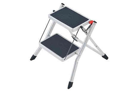 Ladder Sales Direct - Slim Fold Mini K Step Stool Deal - Save 42%