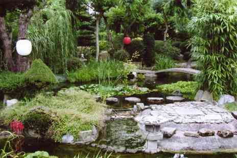 Pure Land Meditation Centre - £14 for entry for 2 adults to the Pure Land Japanese Garden - Save 43%