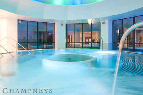 Champneys Springs - Overnight Spa Package with Massage, Facial, and Breakfast, Lunch, Dinner - Save 47%