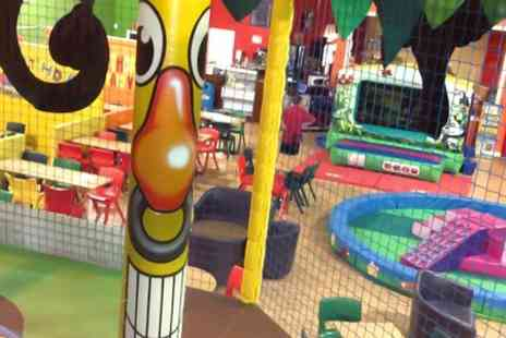 Widnes Superbowl - Soft Play and Squash For Two  - Save 50%