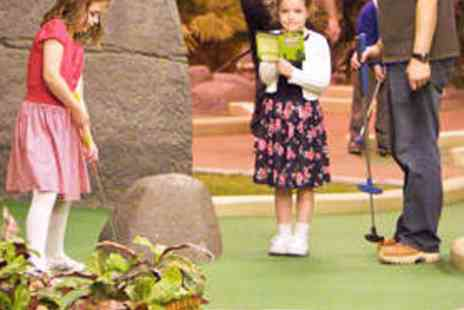 Paradise Island Adventure Golf - 18 Holes of Adventure Golf for Adult and Child - Save 60%