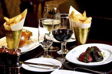 Reform Social and Grill - Two Course Lobster or Hanger Steak Meal With Wine  - Save 52%