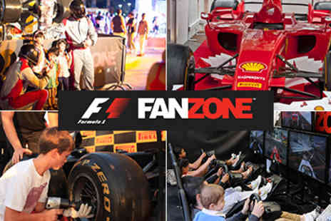 F1 FanZone - The Official Formula 1 Event that celebrates Motorsports A Great Family Day Out - Save 50%