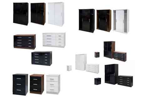 D furniture store - Choice of Wardrobe, Chest or Bedside Furniture - Save 26%
