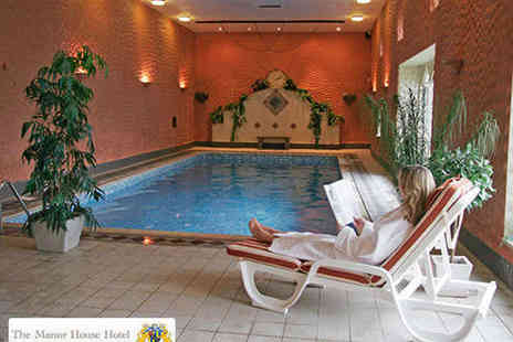 Spa at The Manor House Hotel - Full Day Spa Experience with Two Treatments - Save 54%