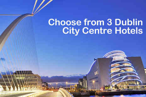 O Callaghan Hotel - Overnight Sunday stay for two in Central Dublin  - Save 47%