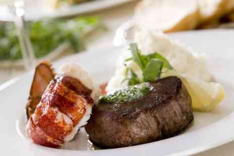 The Horseshoe Bar and Restaurant - Steak and Lobster With Prosecco For Two  - Save 0%