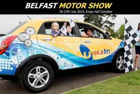 Belfast Motor Show -  Family Ticket to Motor Show - Save 53%