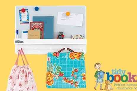 Tidy Books - Gorgeous ForgetMeNot  Family Organiser Shelving Unit  - Save 50%