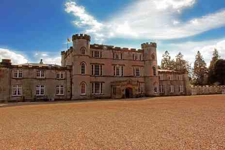 Melville Castle - A night in a Scottish Castle with breakfast and a 2 course dinner for 2 - Save 41%