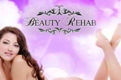 Beauty Rehab - Six Sessions of IPL Hair Removal on Either One Large And One Small, Two Medium - Save 88%