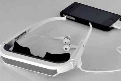 Aspa Supplies - 84� Virtual Screen Video Glasses for iPhone, iPad & More - Save 60%