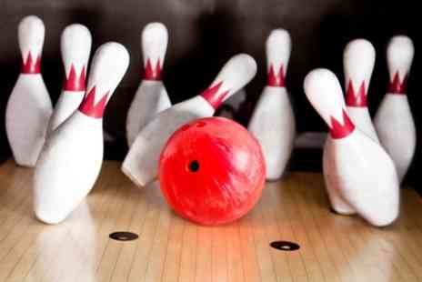 Strikes Bowling - Three Games of Bowling With Hotdog Each  - Save 76%